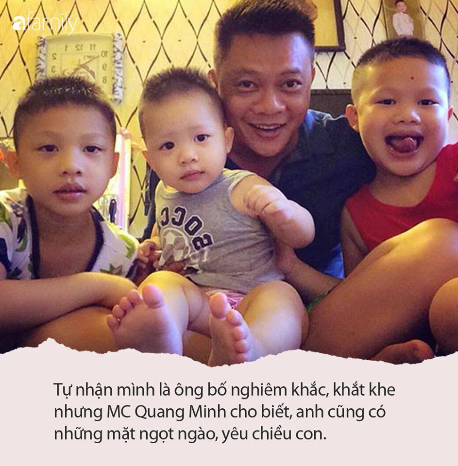 Tết nhất đến nơi MC Quang Minh buồn thiu than trời vì tivi vỡ toang màn hình, nguyên nhân hóa ra do 3 cậu quý tử - Ảnh 4.
