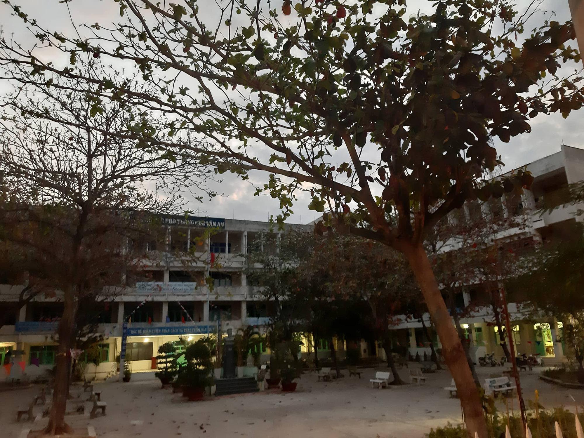 Ninh Thuận: Xác định được danh tính và bức thư tuyệt mệnh của người phụ nữ nhảy lầu trong trường học - Ảnh 1.