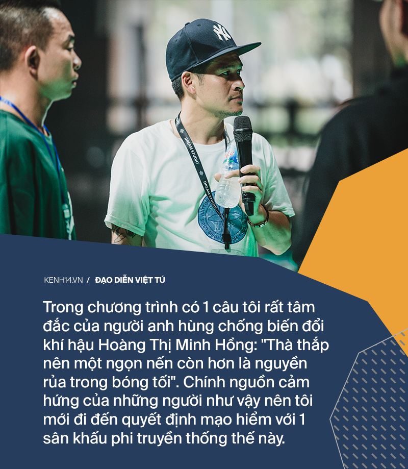 Đạo diễn Việt Tú: Sân khấu của WeChoice Awards 2019 là một sự thay đổi mạo hiểm - Ảnh 4.
