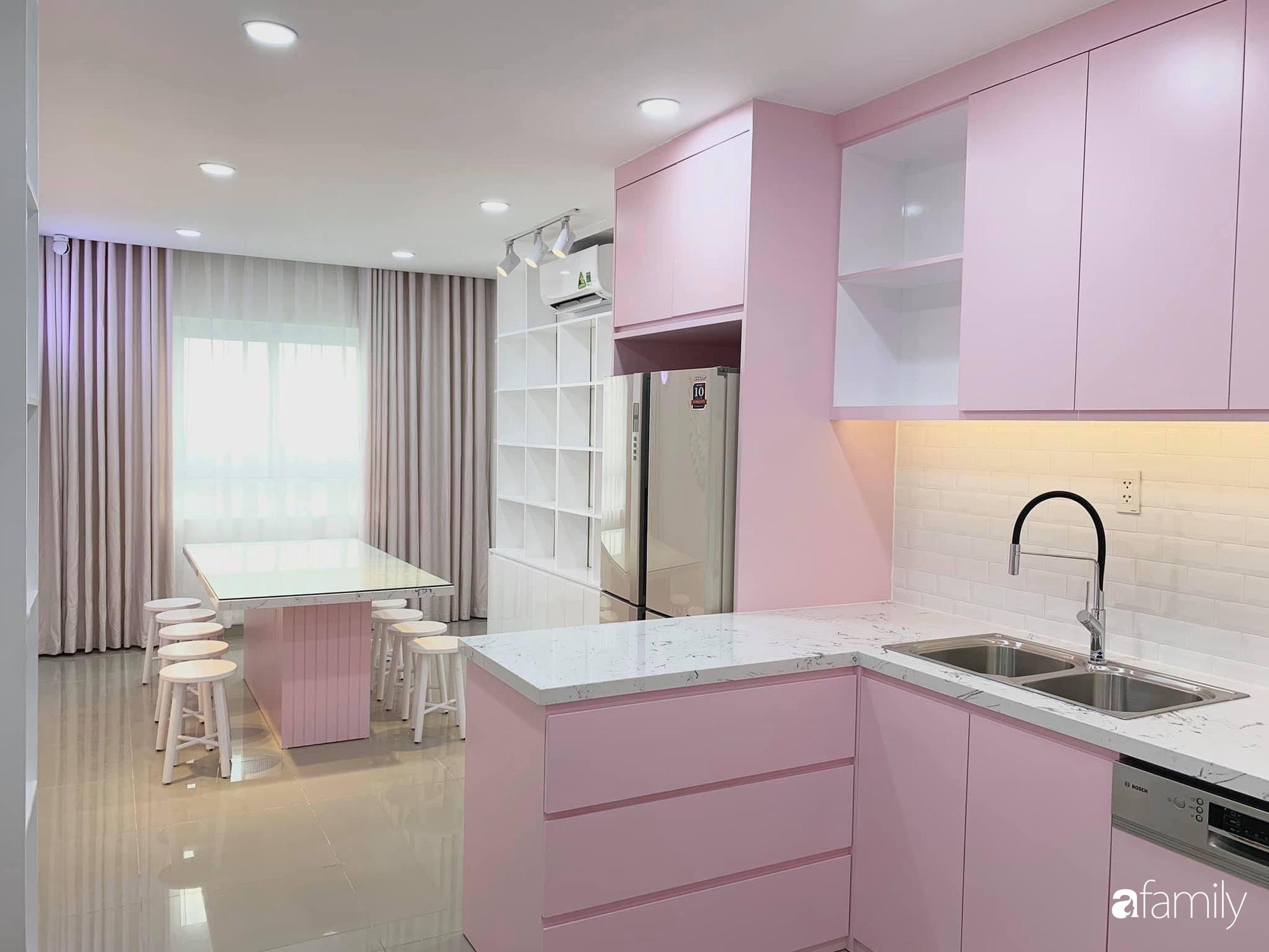 """Căn bếp màu hồng ngọt ngào đẹp """"rụng tim"""" của cô nàng dành tất cả niềm đam mê cho việc làm bánh ở Sài Gòn - Ảnh 7."""