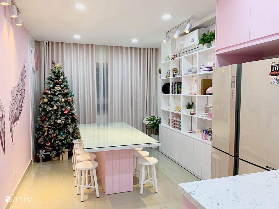 """Căn bếp màu hồng ngọt ngào đẹp """"rụng tim"""" của cô nàng dành tất cả niềm đam mê cho việc làm bánh ở Sài Gòn - Ảnh 6."""