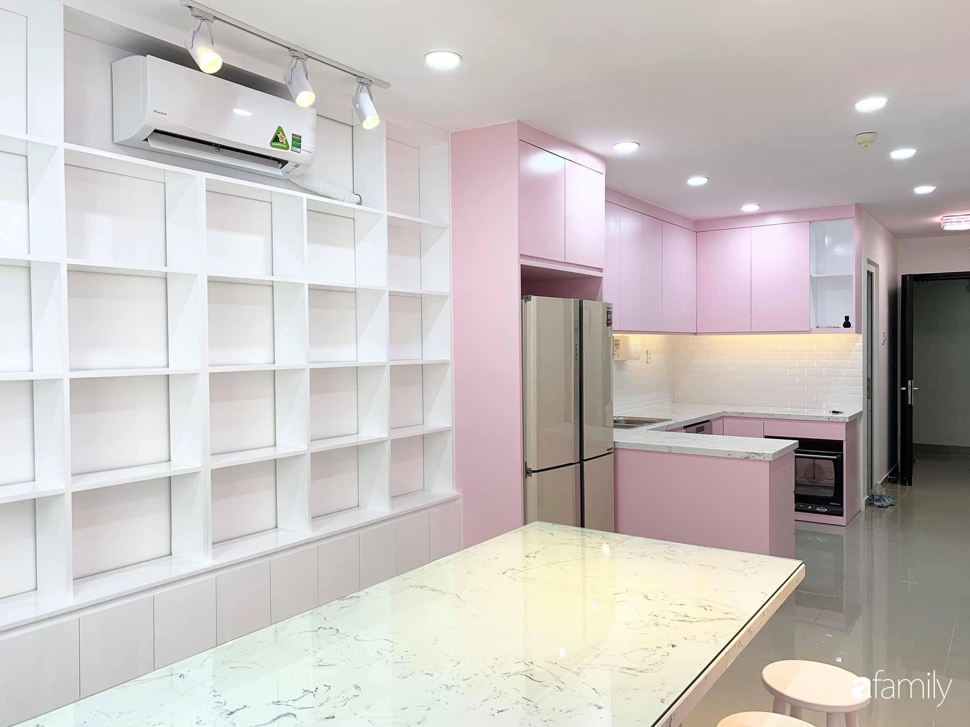 """Căn bếp màu hồng ngọt ngào đẹp """"rụng tim"""" của cô nàng dành tất cả niềm đam mê cho việc làm bánh ở Sài Gòn - Ảnh 5."""