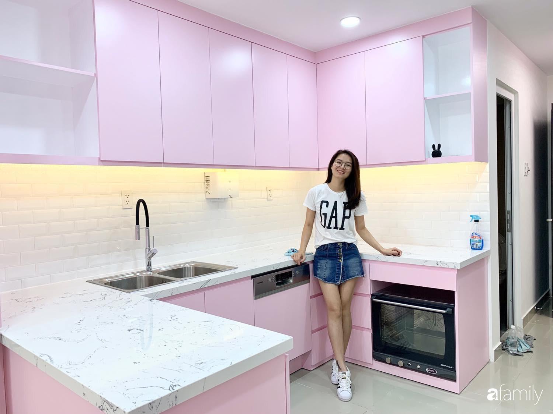 """Căn bếp màu hồng ngọt ngào đẹp """"rụng tim"""" của cô nàng dành tất cả niềm đam mê cho việc làm bánh ở Sài Gòn - Ảnh 4."""