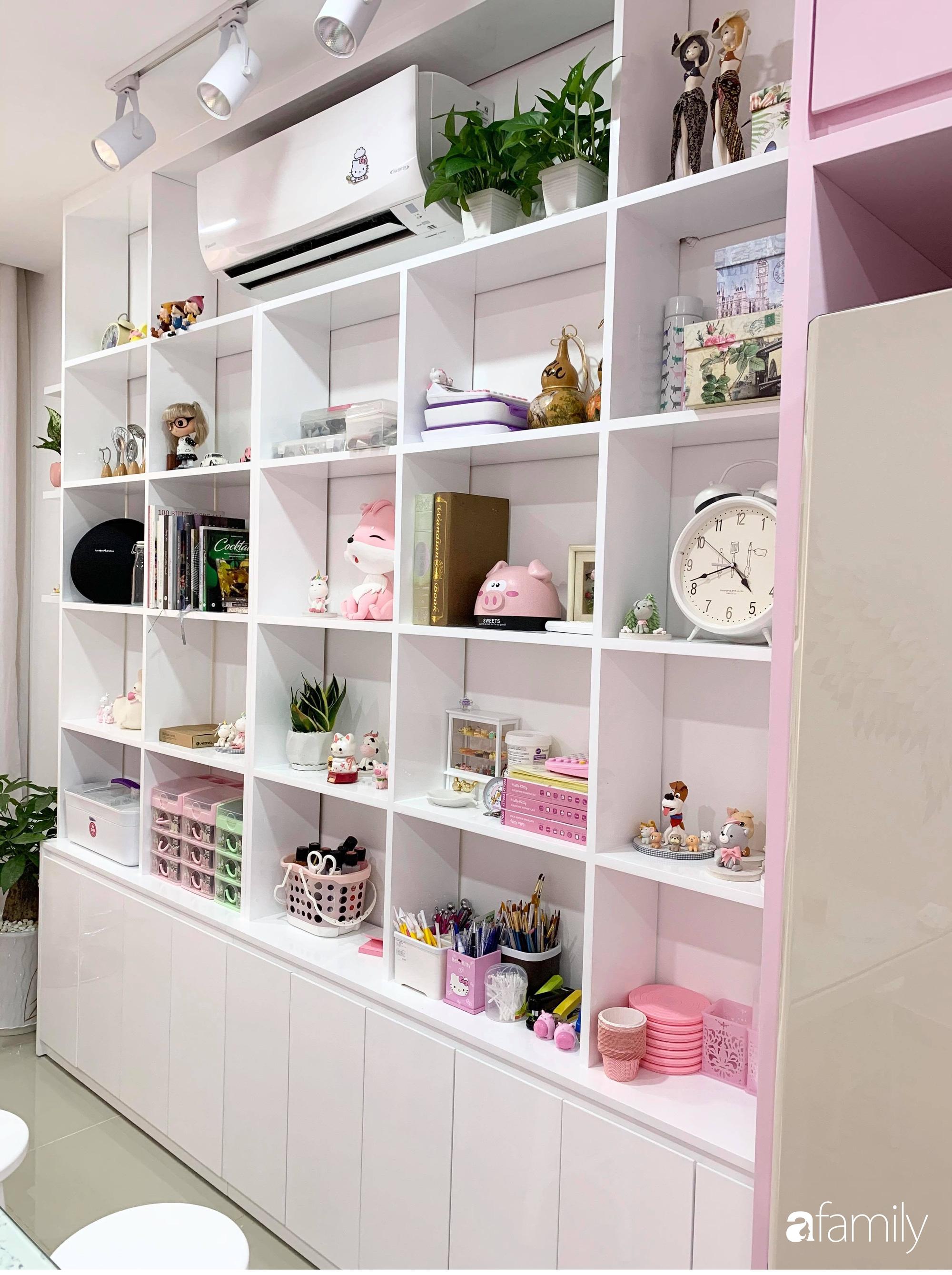 """Căn bếp màu hồng ngọt ngào đẹp """"rụng tim"""" của cô nàng dành tất cả niềm đam mê cho việc làm bánh ở Sài Gòn - Ảnh 8."""