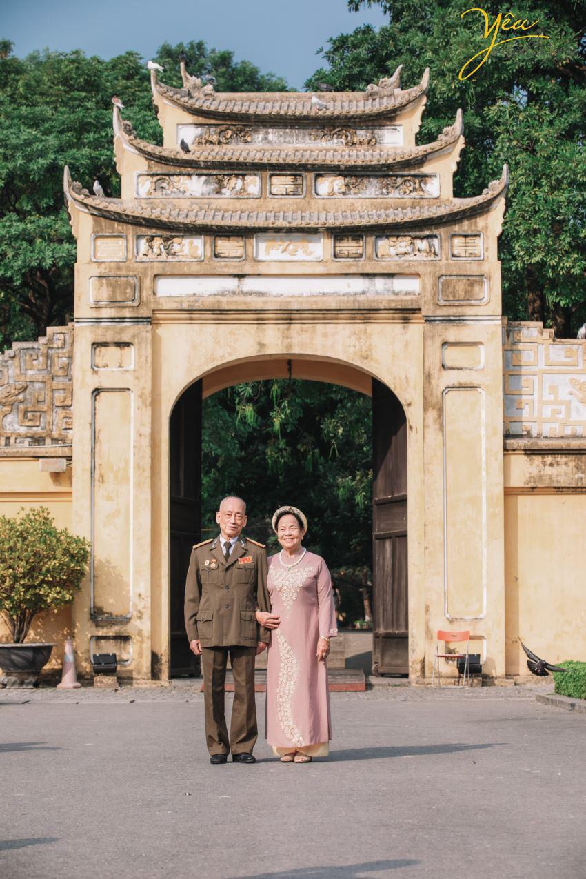 Bộ ảnh chụp kỉ niệm 60 năm ngày cưới siêu lãng mạn tại Hà Nội - Ảnh 5.