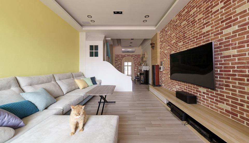 Thiết kế nhà ở với không gian sống động, vui nhộn như chốn công viên để lưu giữ tuổi thơ của các con - Ảnh 1.