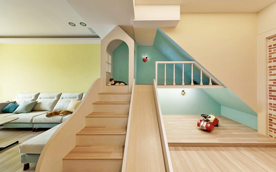 Thiết kế nhà ở với không gian sống động, vui nhộn như chốn công viên để lưu giữ tuổi thơ của các con - Ảnh 2.