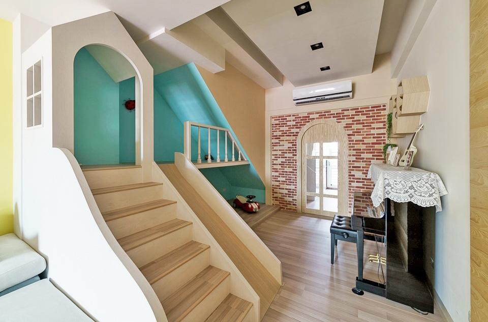 Thiết kế nhà ở với không gian sống động, vui nhộn như chốn công viên để lưu giữ tuổi thơ của các con - Ảnh 4.