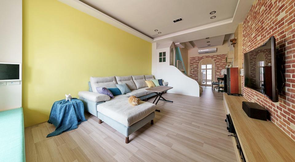 Thiết kế nhà ở với không gian sống động, vui nhộn như chốn công viên để lưu giữ tuổi thơ của các con - Ảnh 7.