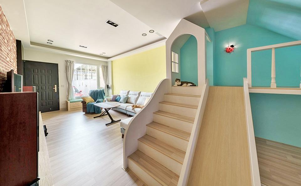 Thiết kế nhà ở với không gian sống động, vui nhộn như chốn công viên để lưu giữ tuổi thơ của các con - Ảnh 9.