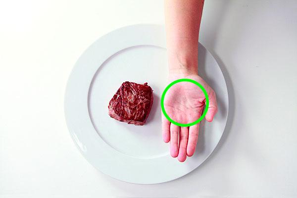 Cách đo khẩu phần ăn bằng bàn tay giúp giảm cân hiệu quả - Ảnh 2.