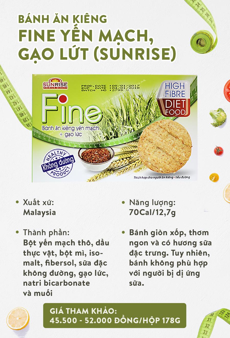 Review nhanh 6 loại bánh ăn kiêng cho chị em nhâm nhi Tết mà không sợ béo - Ảnh 5.