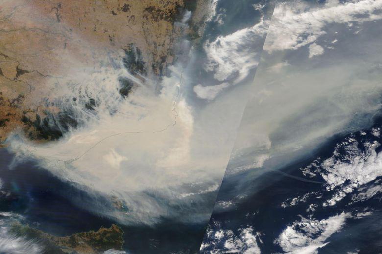 Cháy rừng Úc: Khói lan ra toàn cầu, gây hiện tượng thời tiết lạ - Ảnh 1.