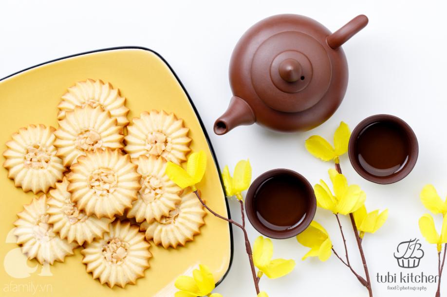 """Hot mom Huỳnh Phương Trang chia sẻ cách làm bánh Florentine """"vạn người mê"""" để dành ăn Tết! - Ảnh 4."""