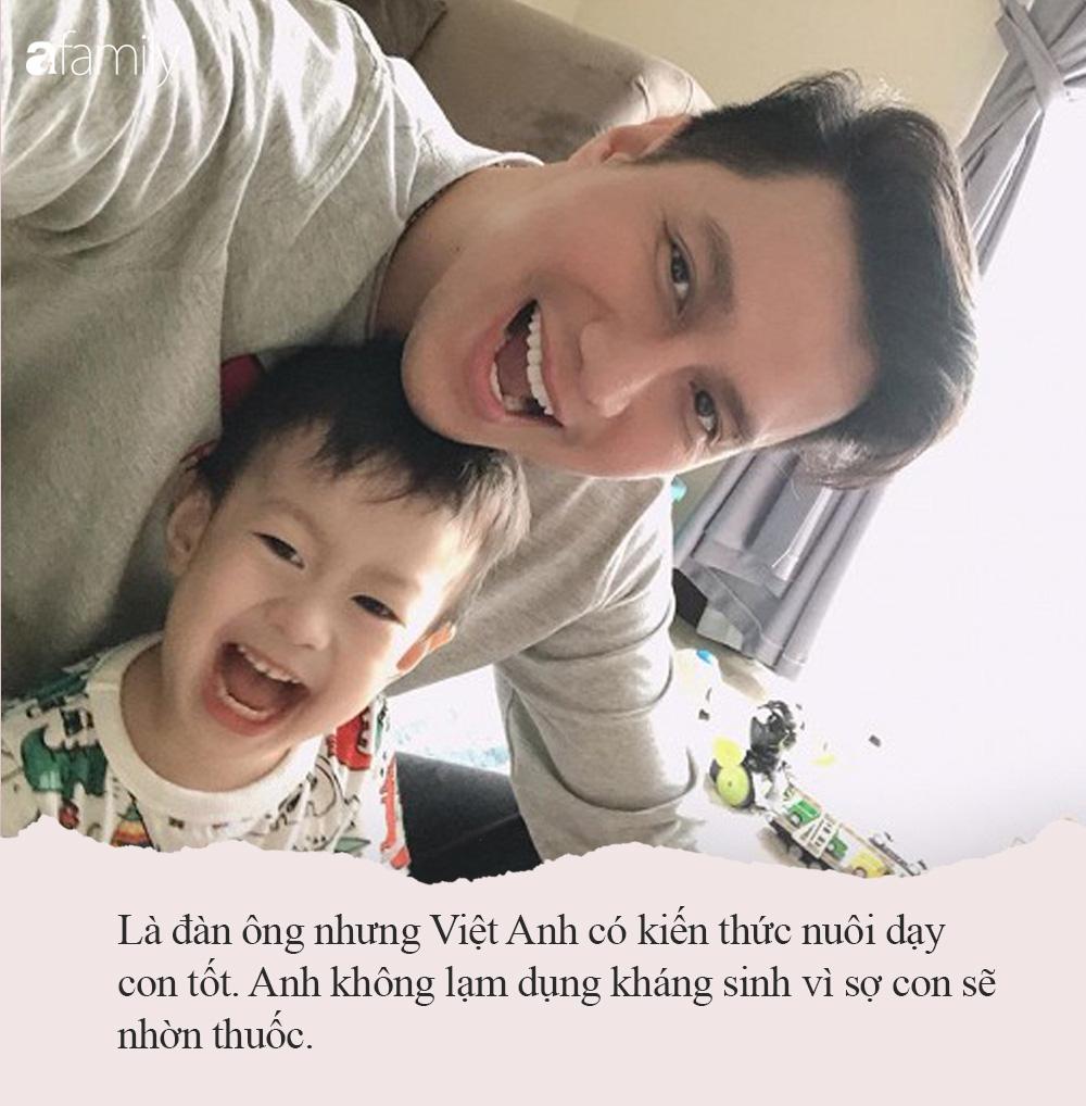 """Trước khi bị cả 2 vợ cũ chỉ trích vô trách nghiệm, nam diễn viên Việt Anh từng có cách nuôi dạy con """"rất gì và này nọ"""" - Ảnh 6."""