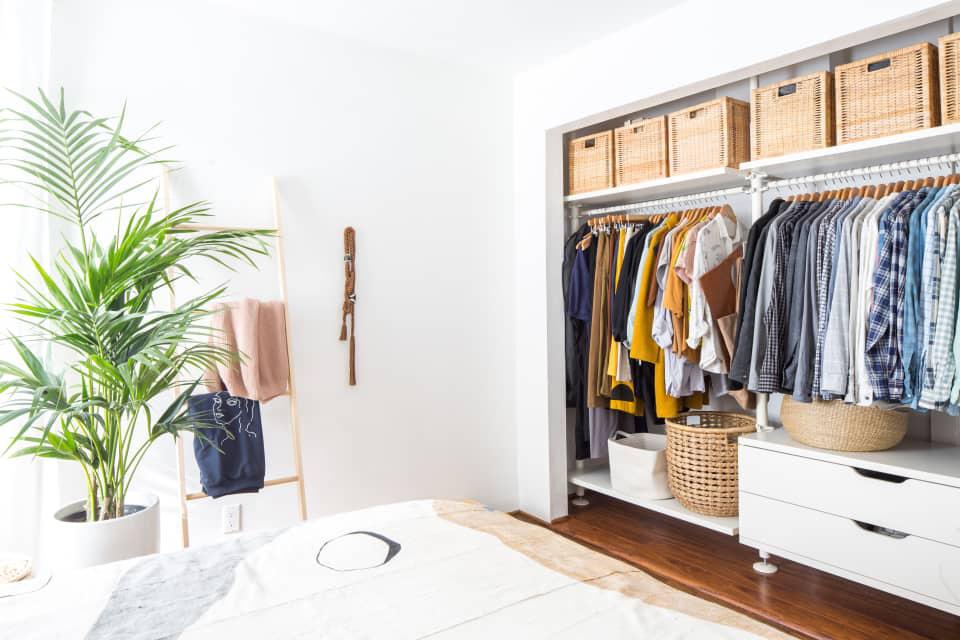 Hô biến tủ quần áo có sức chứa vạn năng chỉ bằng những bước đơn giản sau - Ảnh 2.