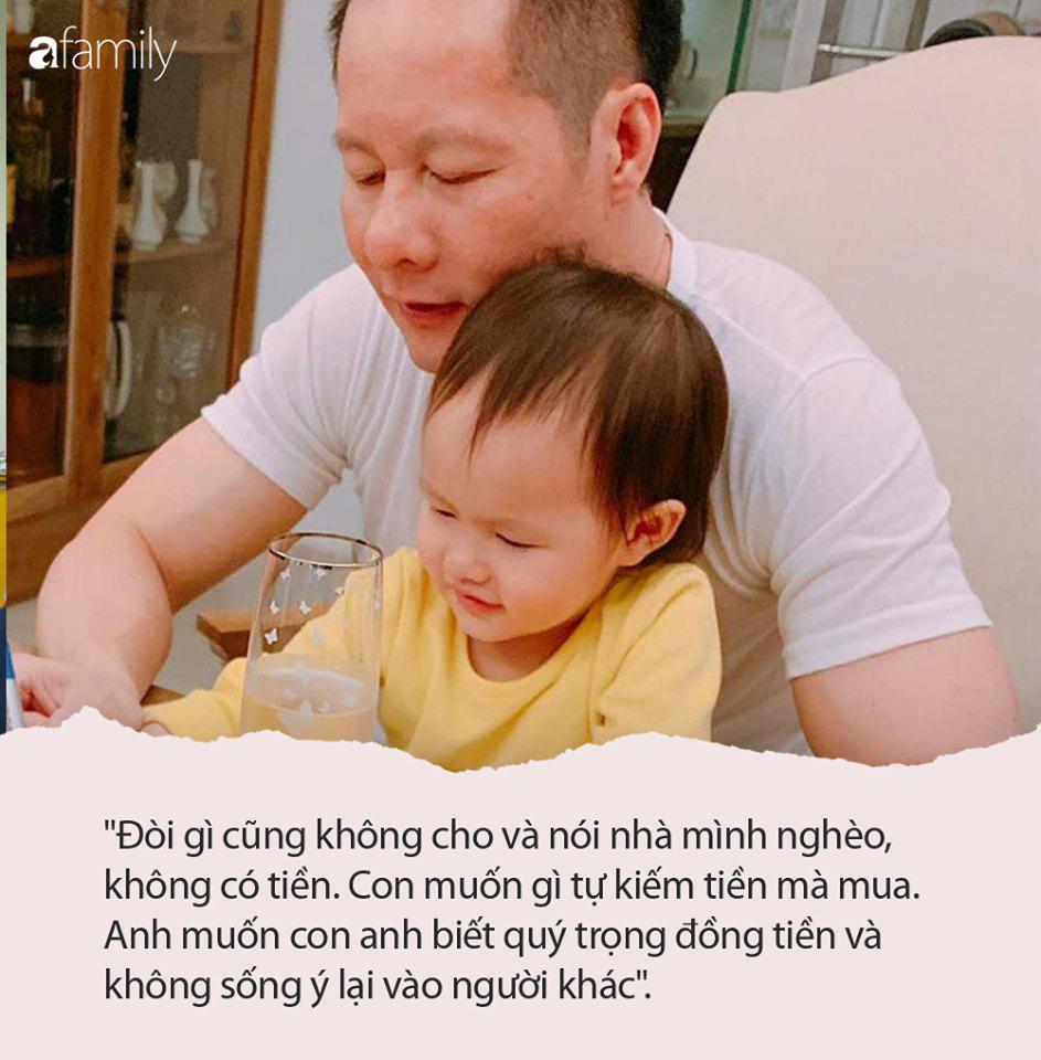 """Giàu sụ nhưng nếu con xin tiền mua đồ, ông xã đại gia của Phan Như Thảo sẽ tỉnh bơ nói câu """"nghe vô lý nhưng lại rất thuyết phục"""" này - Ảnh 4."""