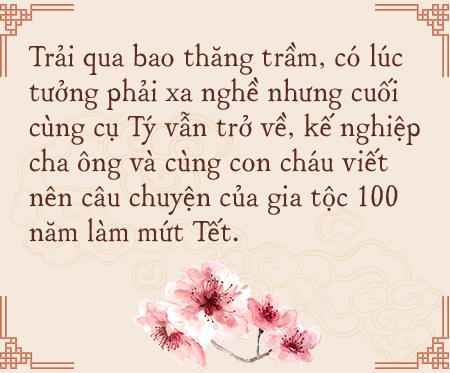 Gia tộc hơn 100 năm làm mứt Tết truyền thống ở Hà Nội: Ăn mứt phải ăn cái thật chất chứ không dùng bao bì hào nhoáng che đậy ẩm thực xoàng xĩnh - Ảnh 7.