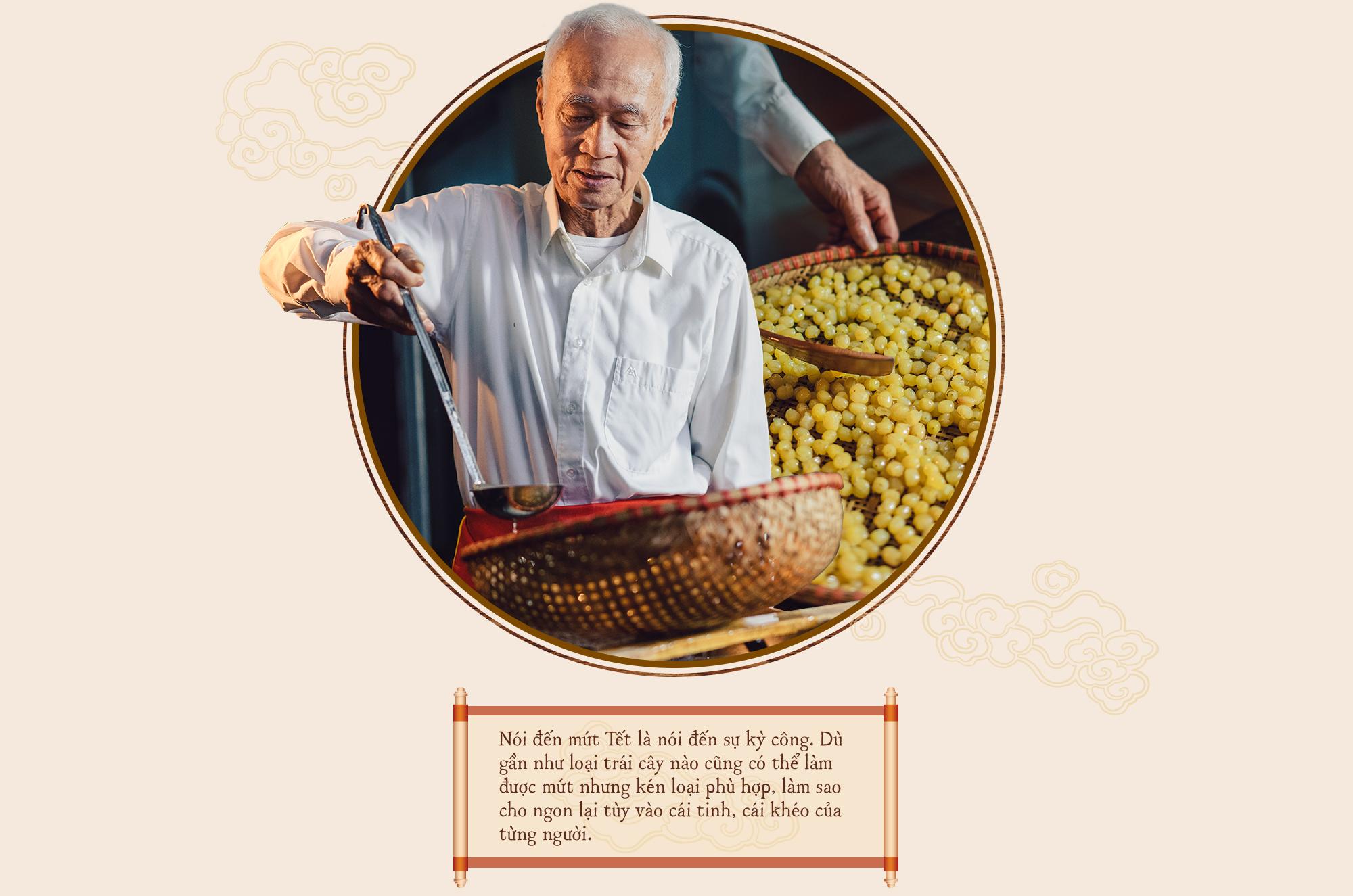 Gia tộc hơn 100 năm làm mứt Tết truyền thống ở Hà Nội: Ăn mứt phải ăn cái thật chất chứ không dùng bao bì hào nhoáng che đậy ẩm thực xoàng xĩnh - Ảnh 8.