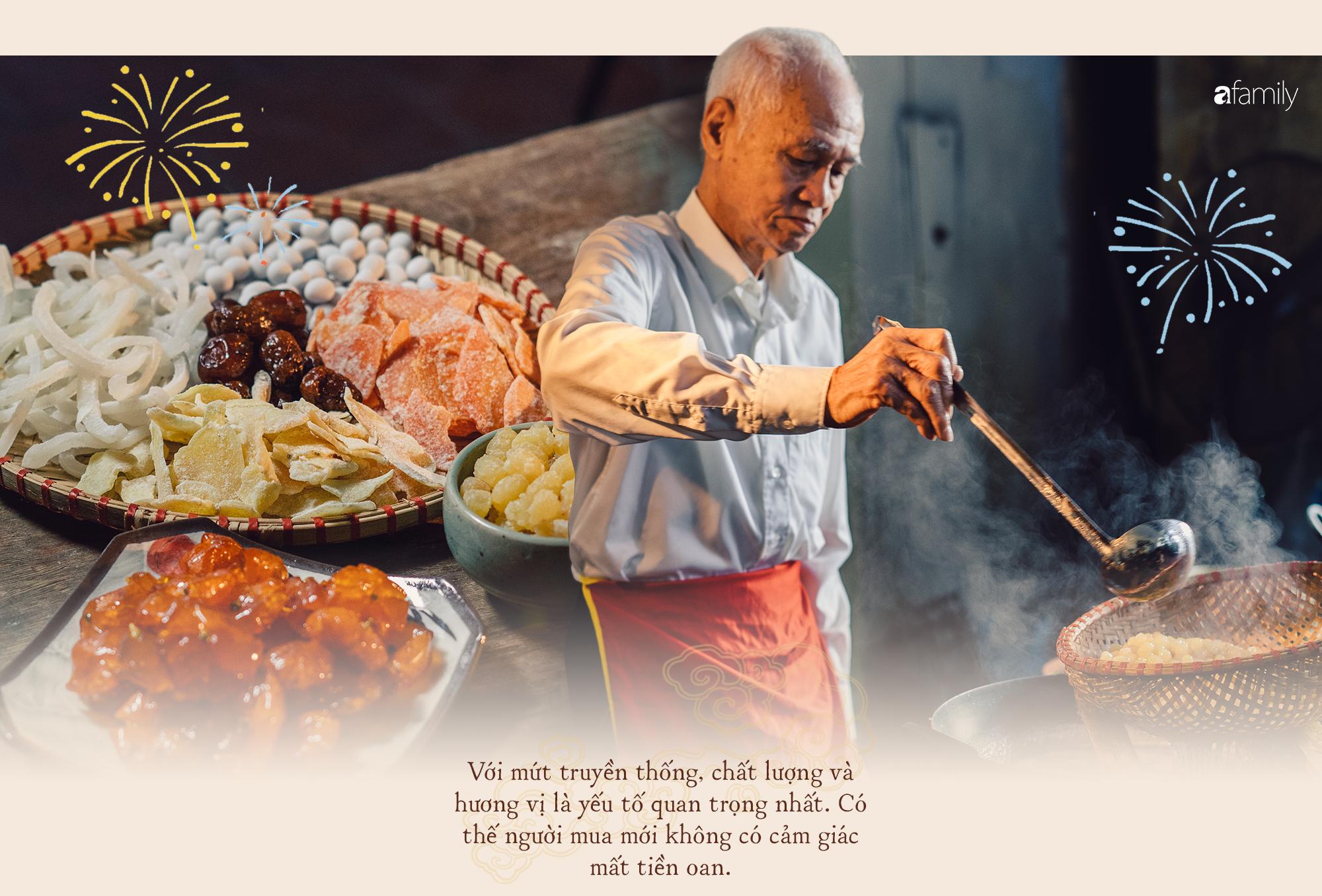 Gia tộc hơn 100 năm làm mứt Tết truyền thống ở Hà Nội: Ăn mứt phải ăn cái thật chất chứ không dùng bao bì hào nhoáng che đậy ẩm thực xoàng xĩnh - Ảnh 13.