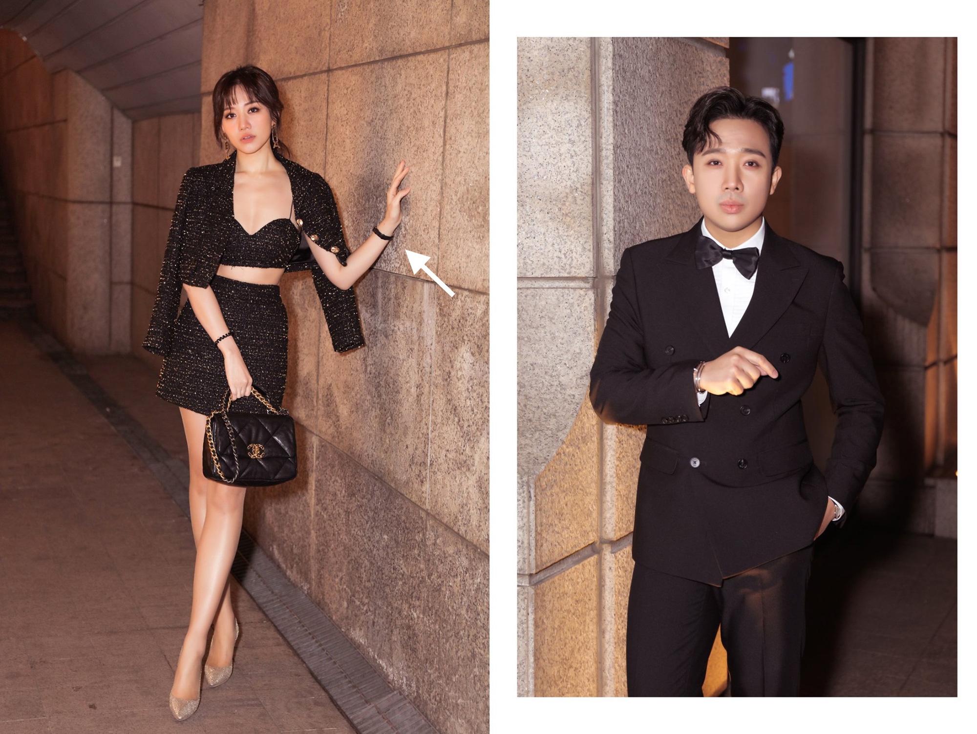 """Hari Won bị chồng """"mắng"""" tới tấp vì cái tội đầu óc để đâu mà diện nguyên cây Chanel vài trăm triệu mà lại đeo phụ kiện 4 ngàn - Ảnh 3."""