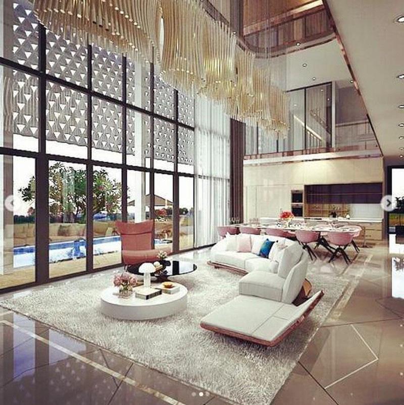 Đầu năm mới, Ngọc Trinh gây choáng khi tiết lộ căn biệt thự đang xây với giá 24 tỷ, chỉ riêng phòng ngủ đã rộng tới 230m2 - Ảnh 9.