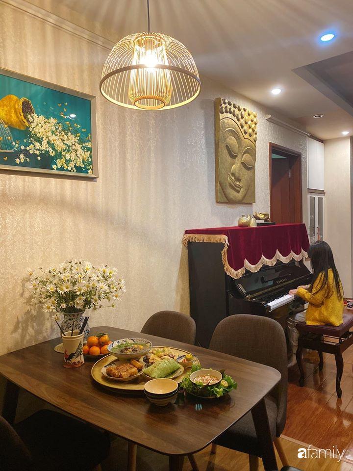 Căn hộ được điểm xuyết vẻ đẹp của ngày Tết truyền thống nhờ bàn tay khéo léo của mẹ trẻ xinh đẹp ở Long Biên, Hà Nội - Ảnh 13.