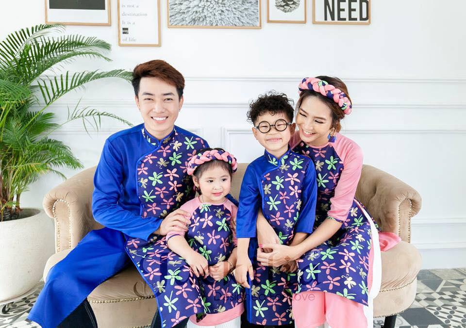 Tết này, mách mẹ cách chuẩn bị trang phục Tết cho cả gia đình sao cho lung linh nhất - Ảnh 1.