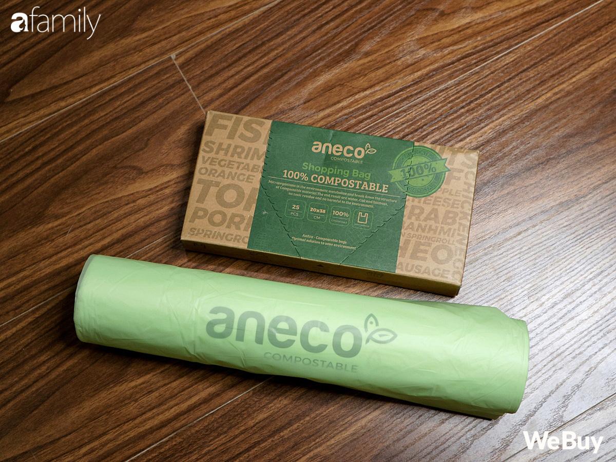 Hội chị em dọn nhà, mua sắm dùng thử ngay túi nilon AnEco: Làm từ nhựa sinh học, phân hủy 100% thành mùn nuôi cây, nước và CO2 - Ảnh 1.