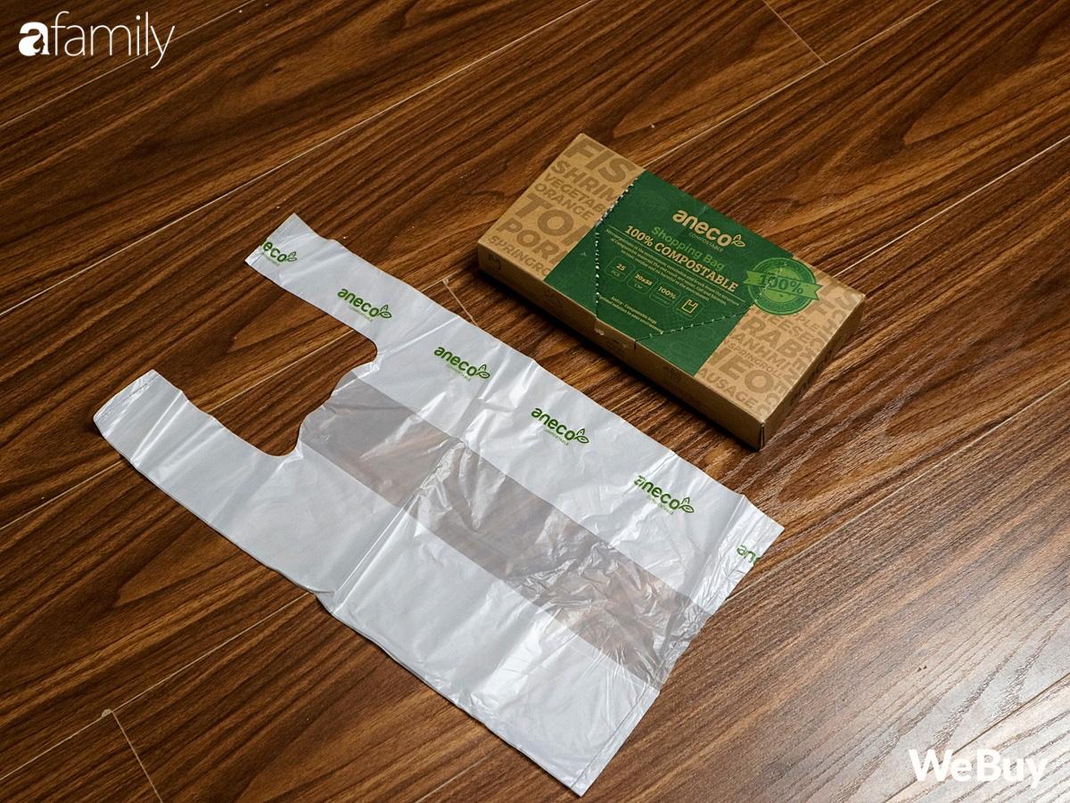Hội chị em dọn nhà, mua sắm dùng thử ngay túi nilon AnEco: Làm từ nhựa sinh học, phân hủy 100% thành mùn nuôi cây, nước và CO2 - Ảnh 2.
