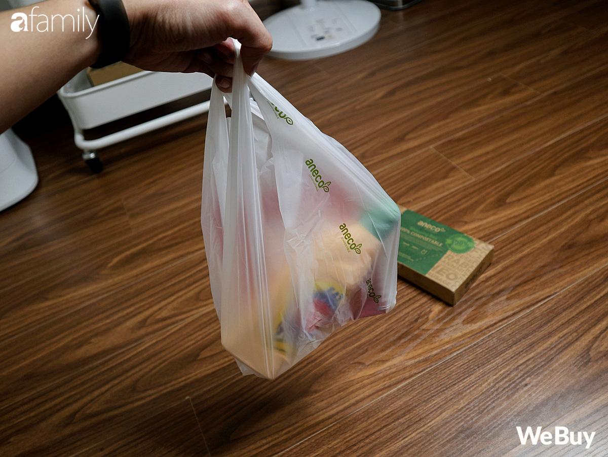 Hội chị em dọn nhà, mua sắm dùng thử ngay túi nilon AnEco: Làm từ nhựa sinh học, phân hủy 100% thành mùn nuôi cây, nước và CO2 - Ảnh 4.