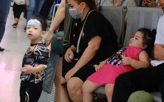 Sân bay Tân Sơn Nhất đông khủng khiếp, trẻ con vật vờ, sốt li bì theo cha mẹ về quê