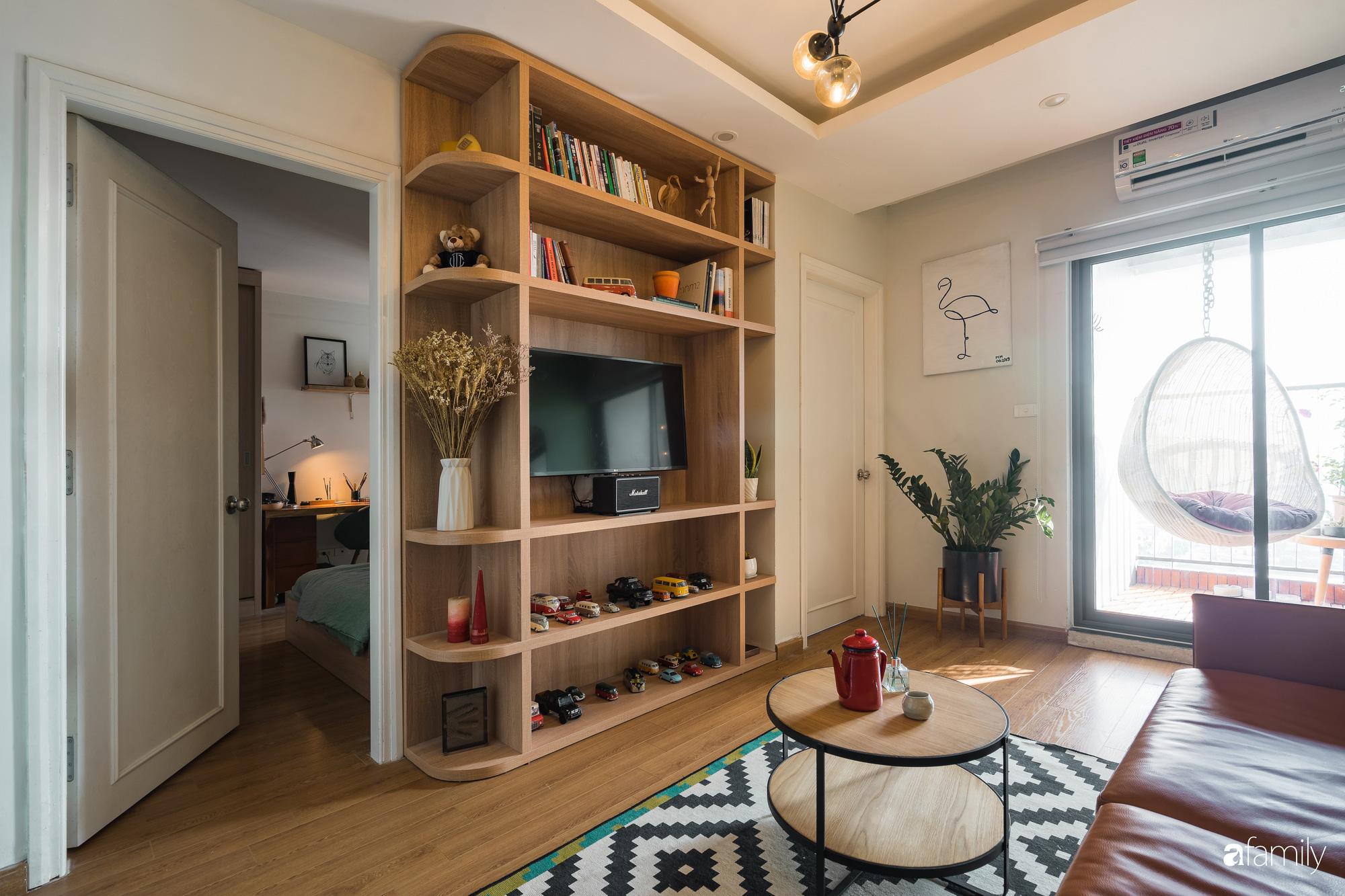 Căn hộ 60m2 với thiết kế tiện nghi, thoải mái cho vợ chồng trẻ cùng thú cưng có chi phí 50 triệu đồng ở Hà Nội - Ảnh 5.