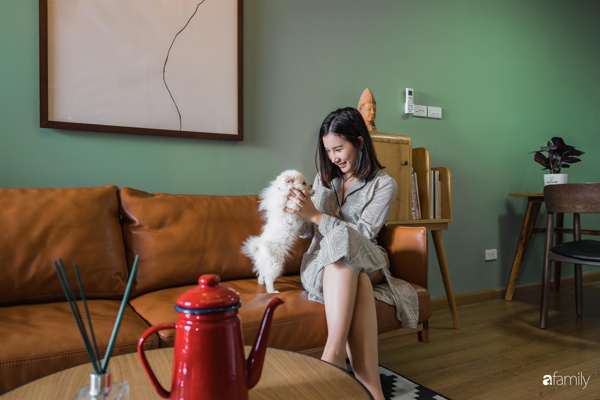 Căn hộ 60m2 với thiết kế tiện nghi, thoải mái cho vợ chồng trẻ cùng thú cưng có chi phí 50 triệu đồng ở Hà Nội - Ảnh 2.