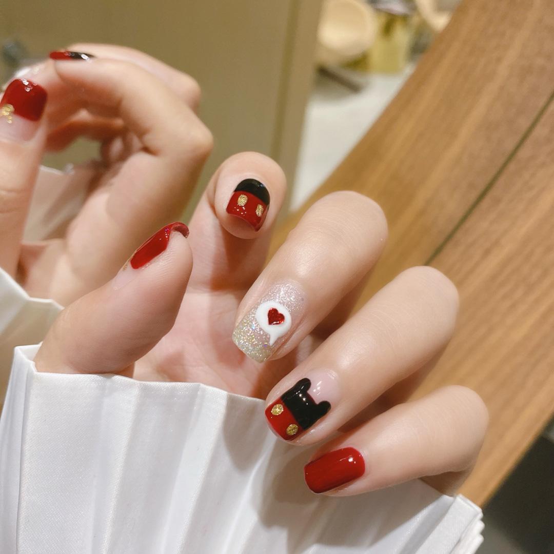 Gợi ý 12 mẫu nails vừa đơn giản lại đẹp sang, rất hợp dịp Tết Canh Tý 2020  - Ảnh 7.