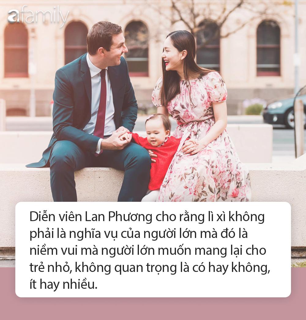 Sao Việt và những bài học dạy con trong cách ứng xử khi nhận lì xì ngày Tết - Ảnh 2.