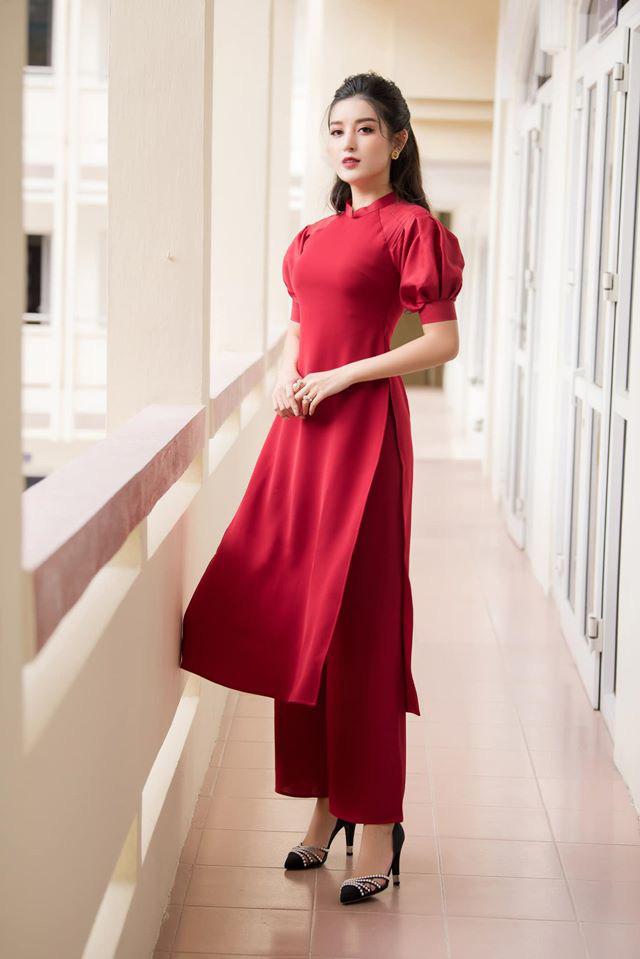 Sao Việt áo dài - Ảnh 7.