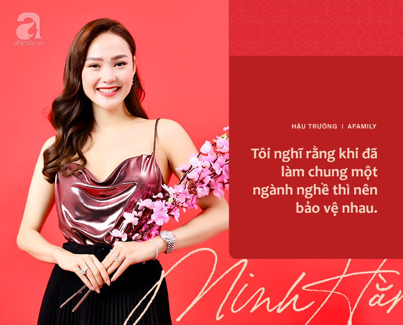 Minh Hằng tuyên bố ngày làm mẹ sẽ không còn xa, bất ngờ tiết lộ mối quan hệ với Thanh Hằng theo cách lạnh lùng - Ảnh 7.