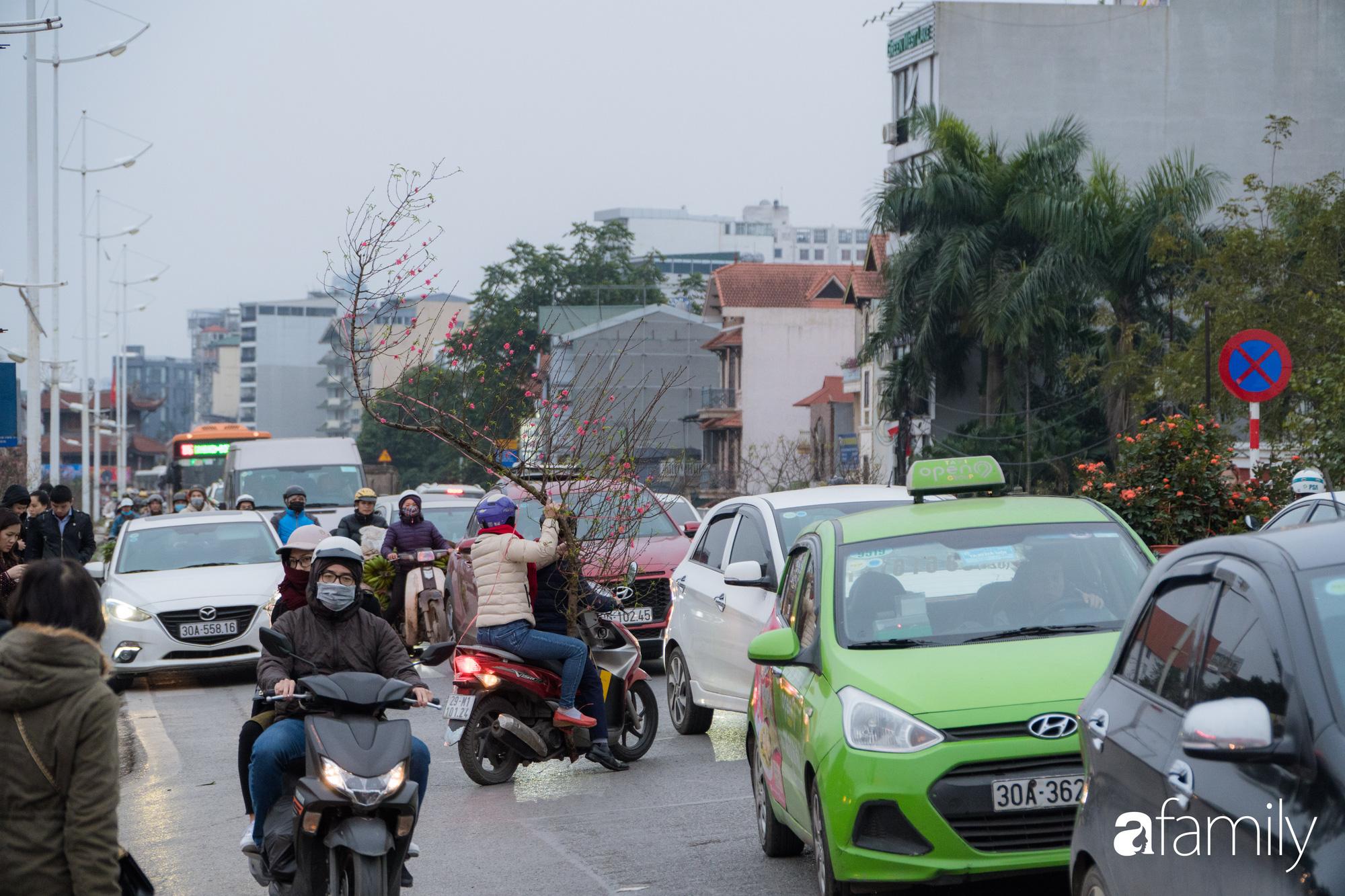 Những khoảnh khắc bình dị ngày cuối năm ở chợ hoa Quảng An, dù lạnh thấu xương nhưng người Hà Nội vẫn nô nức sắm hoa chơi Tết - Ảnh 6.