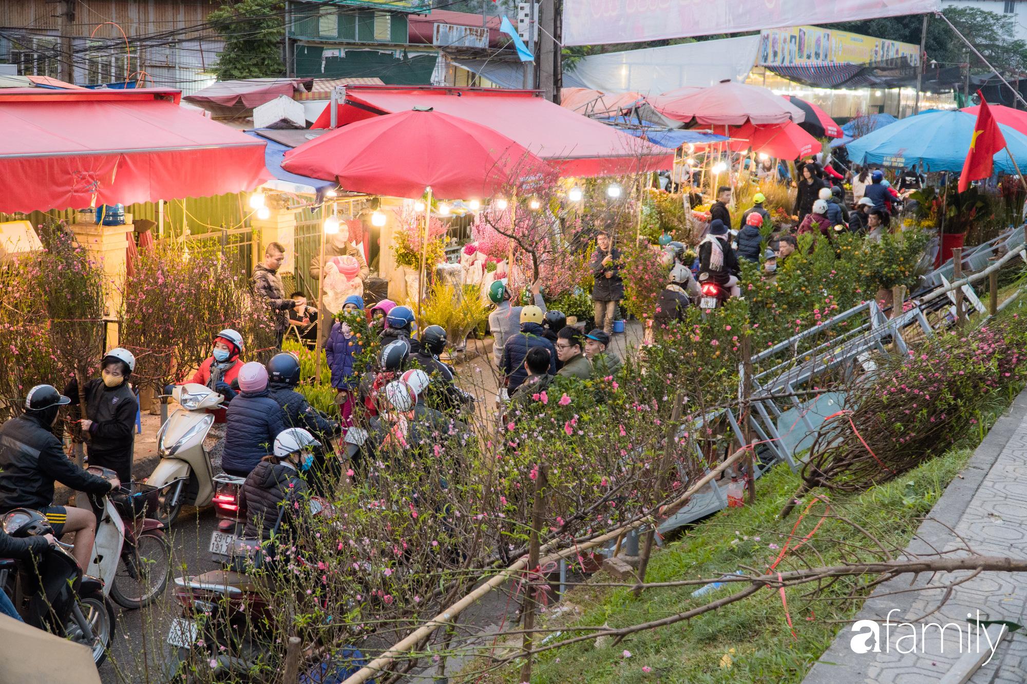 Những khoảnh khắc bình dị ngày cuối năm ở chợ hoa Quảng An, dù lạnh thấu xương nhưng người Hà Nội vẫn nô nức sắm hoa chơi Tết - Ảnh 15.