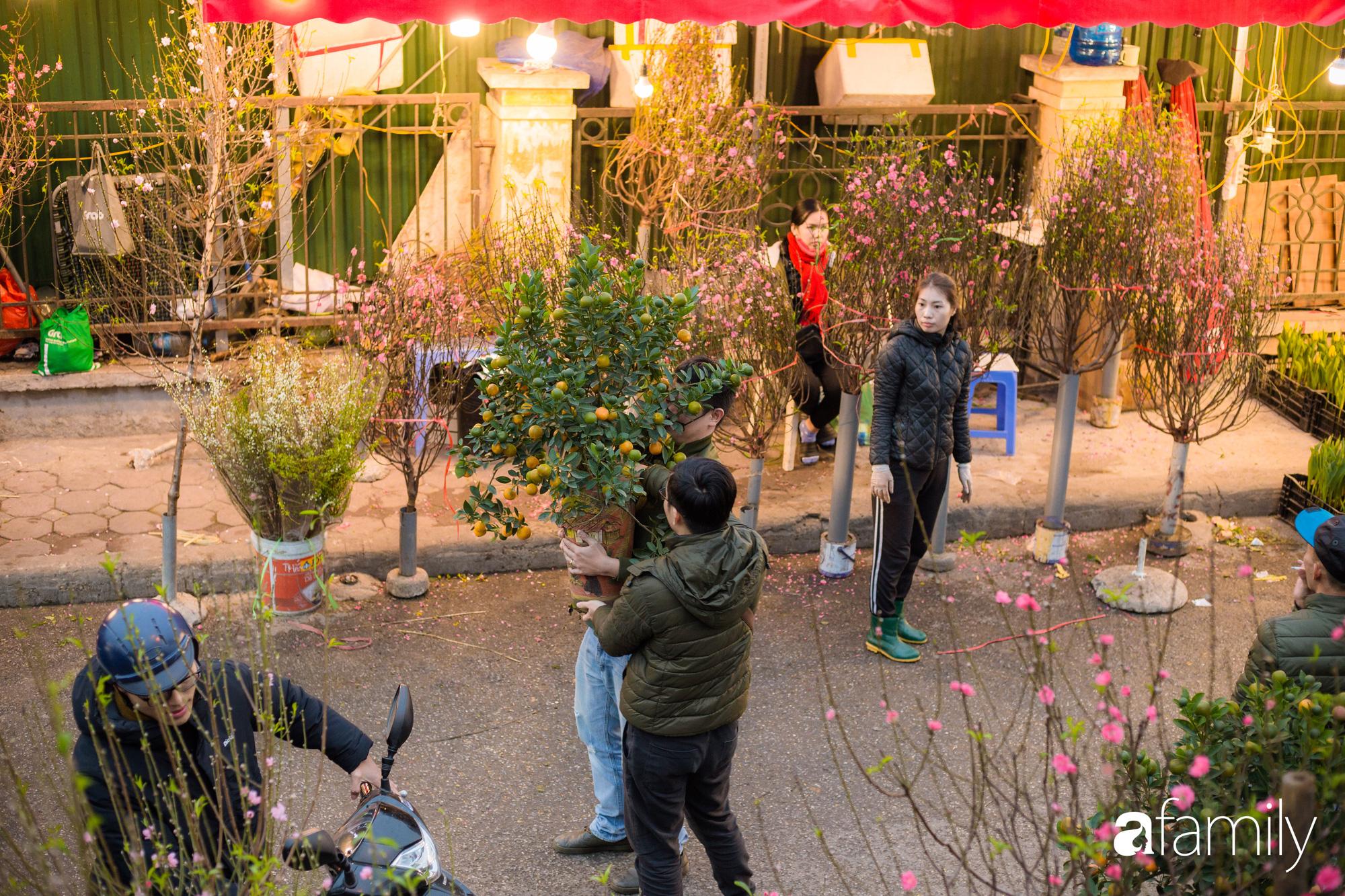 Những khoảnh khắc bình dị ngày cuối năm ở chợ hoa Quảng An, dù lạnh thấu xương nhưng người Hà Nội vẫn nô nức sắm hoa chơi Tết - Ảnh 5.