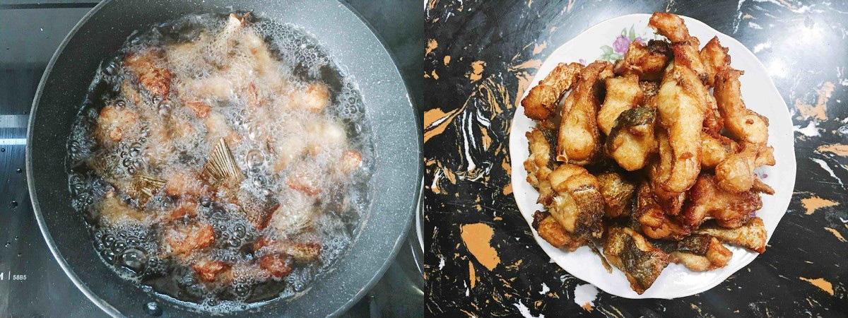 Trời lạnh mà ăn món cá chiên tỏi ớt siêu ngon này với cơm thì đúng là số 1! - Ảnh 2.