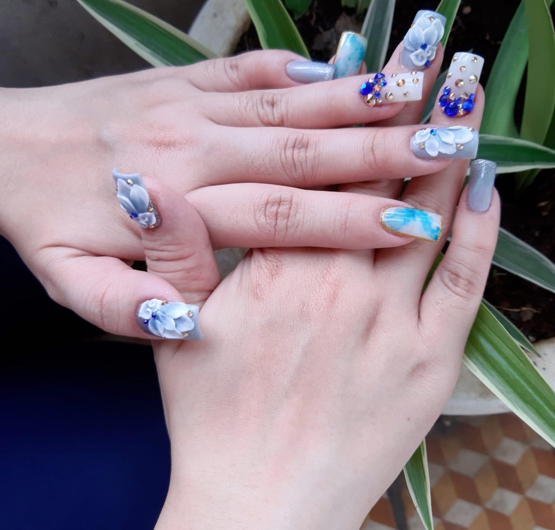 Chị em nô nức khoe thành quả bộ nails ăn Tết:  - Ảnh 2.