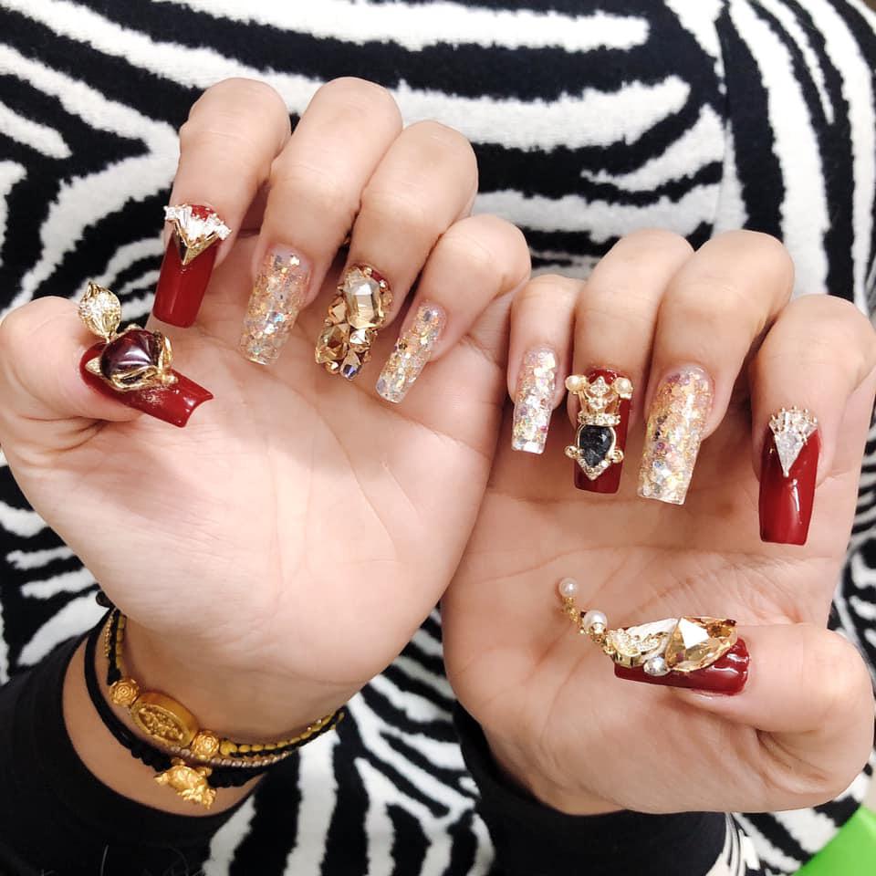 Chị em nô nức khoe thành quả bộ nails ăn Tết:  - Ảnh 3.