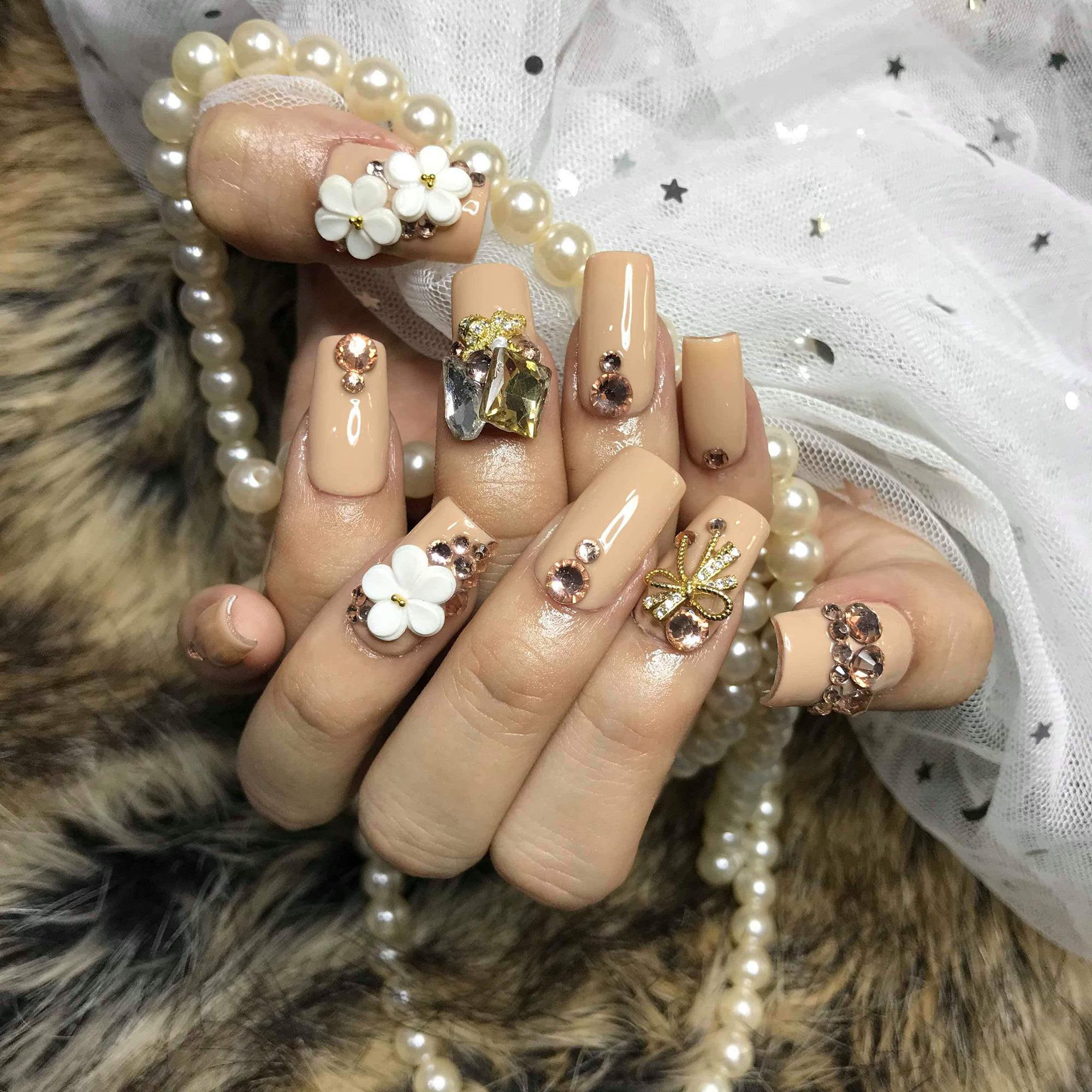 Chị em nô nức khoe thành quả bộ nails ăn Tết:  - Ảnh 12.