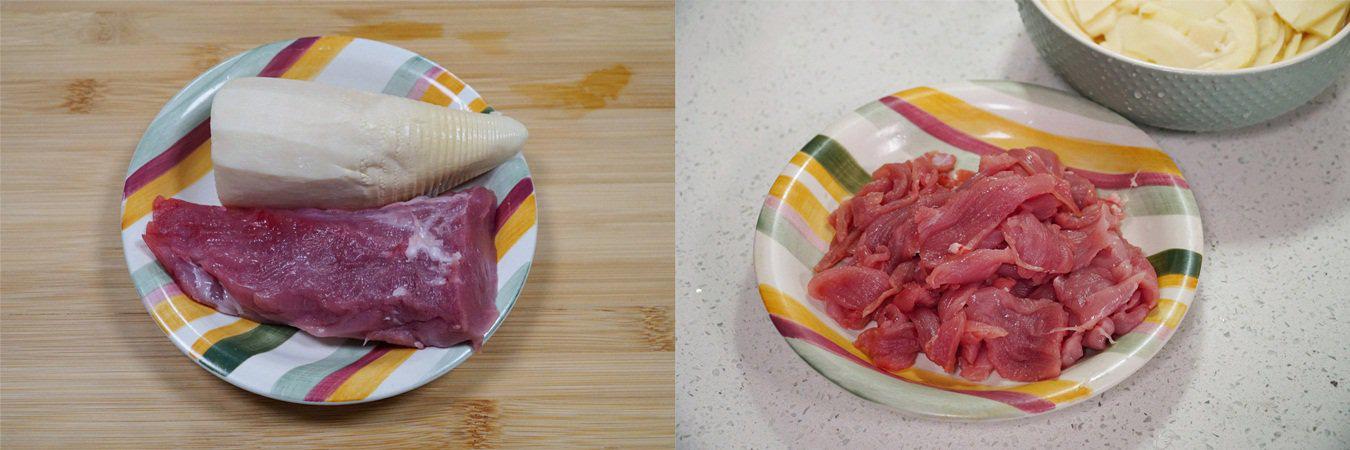 Thịt xào măng món ăn dân dã dễ ăn không thể thiếu vào mùa đông - Ảnh 1.
