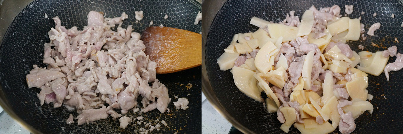 Thịt xào măng món ăn dân dã dễ ăn không thể thiếu vào mùa đông - Ảnh 3.