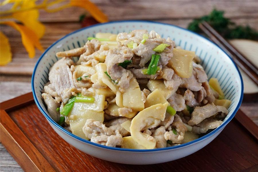 Thịt xào măng món ăn dân dã dễ ăn không thể thiếu vào mùa đông - Ảnh 5.