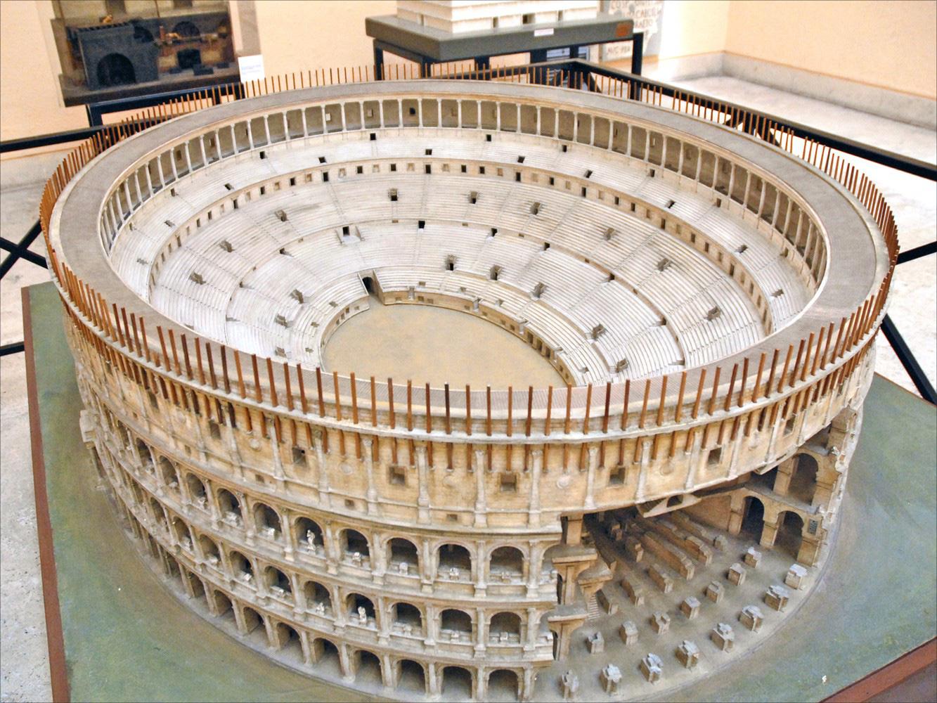 Chiêm ngưỡng mô hình thành Rome cổ đại với tỷ lệ 1:250, mất tới 38 năm mới hoàn thành - Ảnh 4.