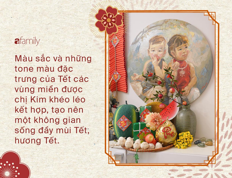 """Căn nhà ngập sắc hương ngày Tết của bà mẹ không ngại chi tiền để con yêu Tết và yêu cái """"Đẹp"""" - Ảnh 2."""